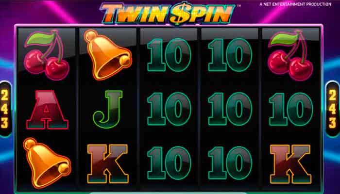 NetEnt Twin Spin Freispiele Slots