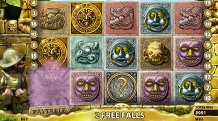 Gonzo Freispiele - Free Falls Bonus