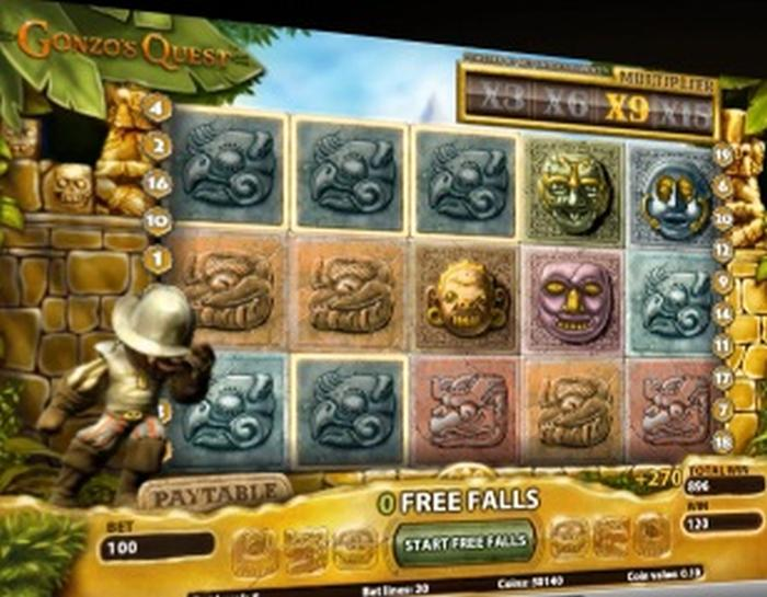 Gonzo's Quest Online-Spielautomat