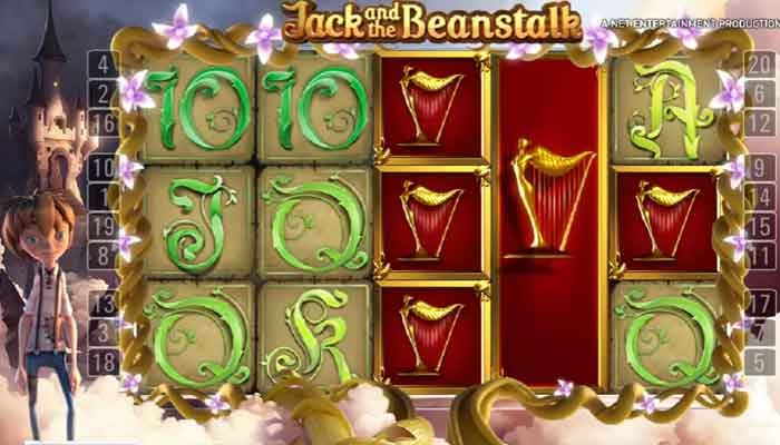 NetEnt Jack and the Beanstalk Freispiele Slots